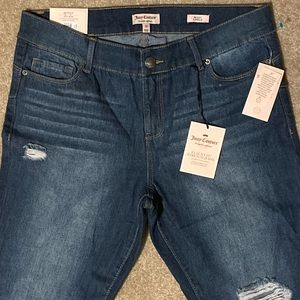 NWT Juicy Couture Skinny Ankle Jeans